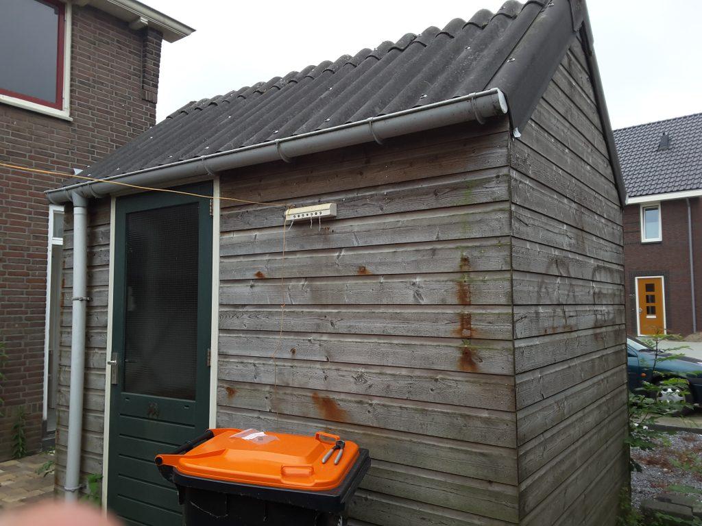 asbest inventarisatie golfplaten dak schuur