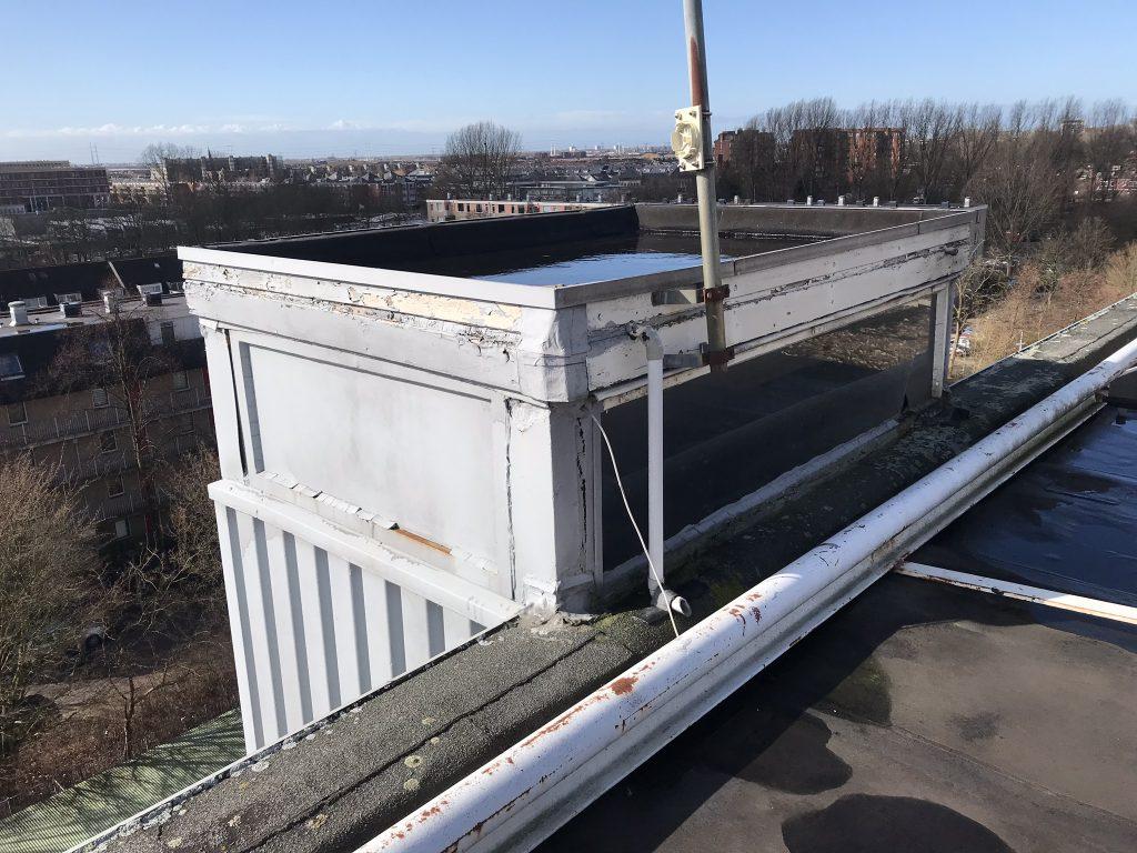 asbest inventarisatie Flamant daken